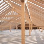 Dachstuhl Konstruktion